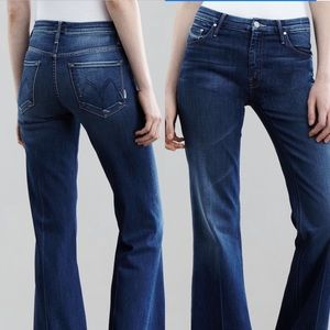 Mother Mellow Drama Jeans in Stardust Altered